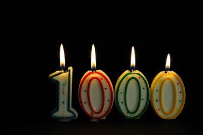 Post número 1000 de El Rincón de Edy