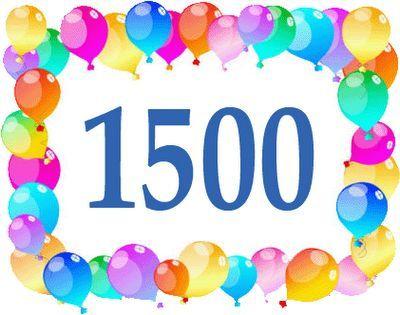 1500 post en El Rincón de Edy