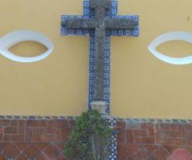 Cruz Parroquia del Sagrado Corazón de Jesús Puebla