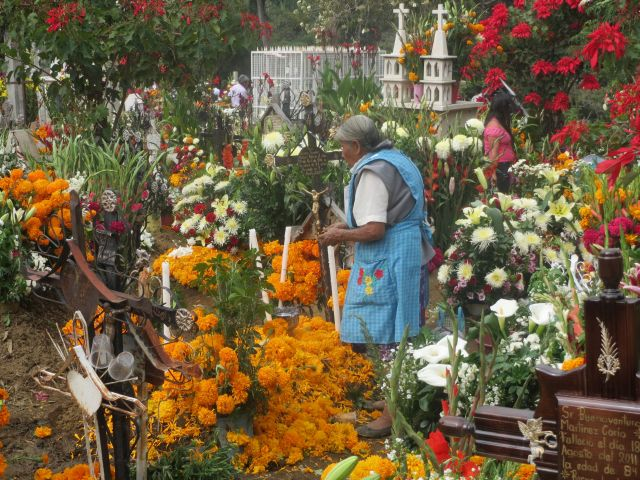 Tradición de Día de Muertos en México