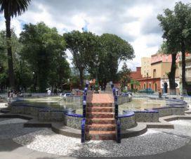 Fuente de los Azulejos Paseo de San Francisco Puebla