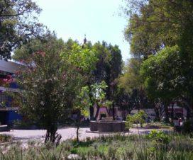 Jardín Álvaro Obregón Ciudad de Puebla