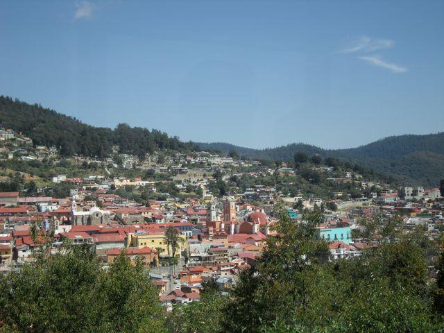 Mineral del Monte Hidalgo Panorámica