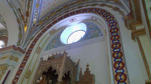 Murales Iglesia del Señor de los Trabajos Puebla