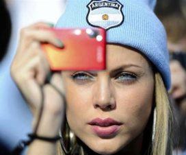 Bellas Chicas Hinchas Argentinas Fútbol