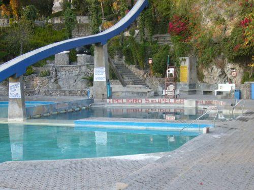 Balneario Agua Azul Aguas Termales
