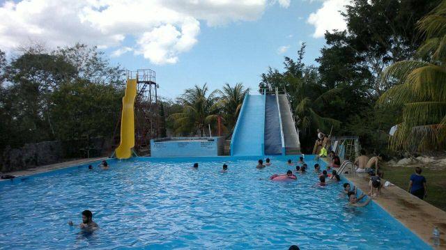 Balneario Agua Azul Mérida Yucatán