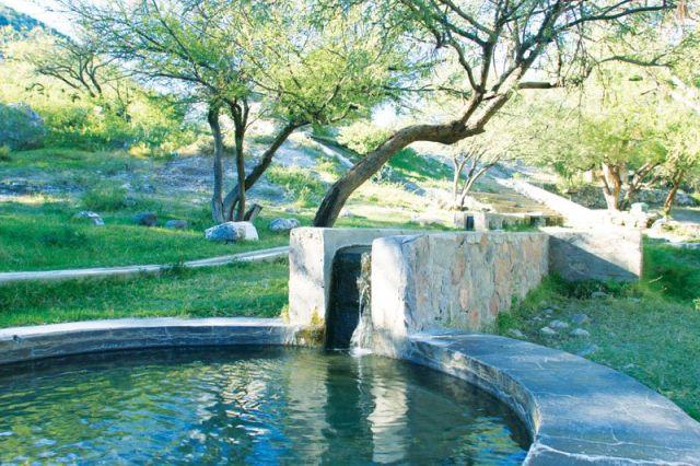 Balneario Aguas Termales de Aconchi Sonora