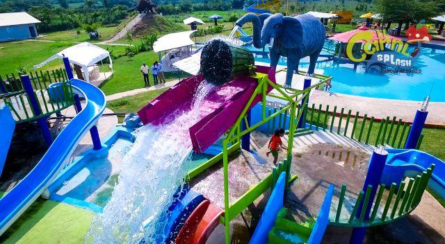 Balneario Carril Splash Parque Acuático Chiapas