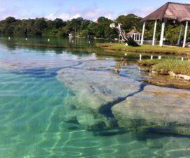 Balneario Cocalitos Bacalar Quintana Roo