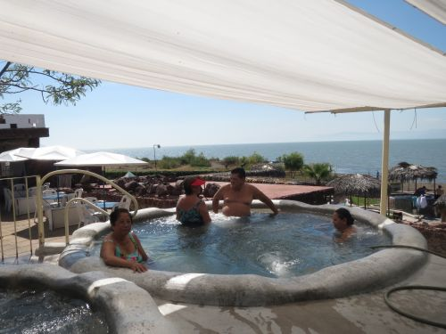 Balneario de Aguas Termales San Juan Cosalá Jacuzzi