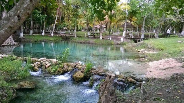 Balneario El Chorro Chetumal Quintana Roo