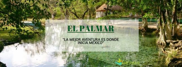 Balneario El Palmar Chetumal Quintana Roo