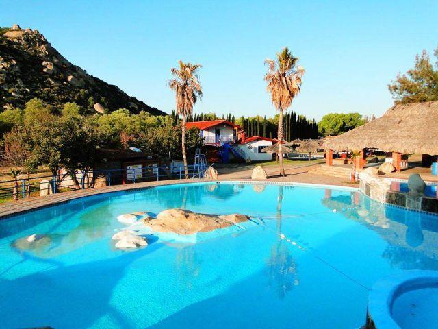 Balneario Hacienda Santa Dominga Tecate Baja California