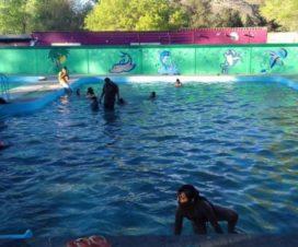 Balneario La Almoloya Río Grande Zacatecas