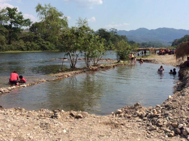 Balneario La Granja Río de Agua Viva Tuxtepec Oaxaca