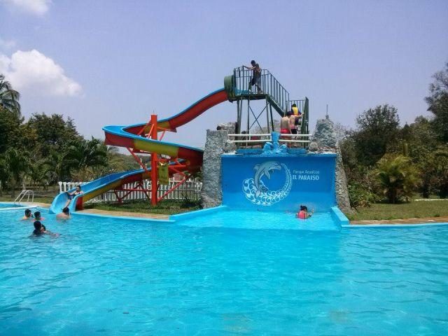 Balneario Parque Acuático El Paraíso Veracruz