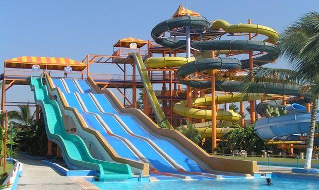 Balneario Parque Ejidal Los Ahuehuetes Atenco