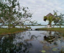 Balneario Rancho Alegre Bacalar Quintana Roo