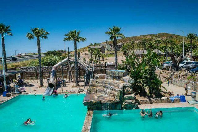 Balneario Rancho Palmar Paradise Rosarito Baja California