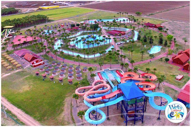Balneario Wet Laguna Parque Acuático Coahuila