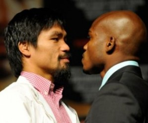 Timothy Bradley y Manny Pacquiao