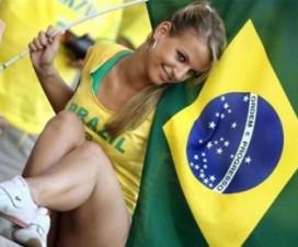 Brasileñas Fútbol Edecanes