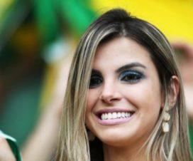 Hermosas Chicas Hinchas Brasileñas Fútbol