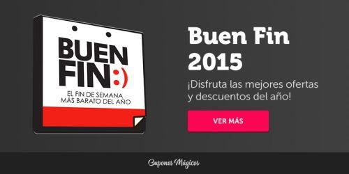 Ofertas y Cupones de Descuento para El Buen Fin 2015