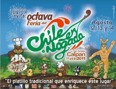 Calpan Chiles en Nogada Feria