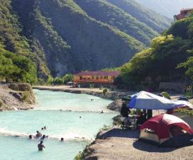 Campamento Grutas de Tolantongo Hidalgo