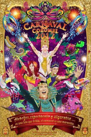 Carnaval Cozumel 2012