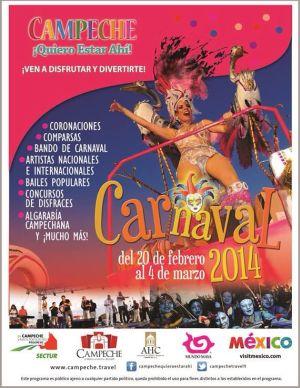 Carnaval de Campeche 2014