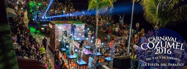 Carnaval de Cozumel 2016