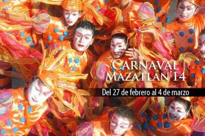 Carnaval de Mazatlán 2014