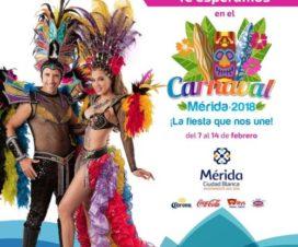 Carnaval de Mérida 2018