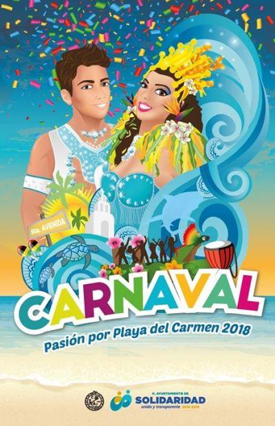 Carnaval de Playa del Carmen y La Riviera Maya 2018