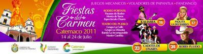 Virgen del Carmen Catemaco Veracruz