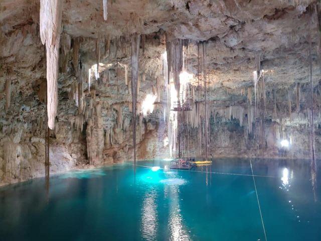Cenote Agua Dulce Yalcobá Yucatán
