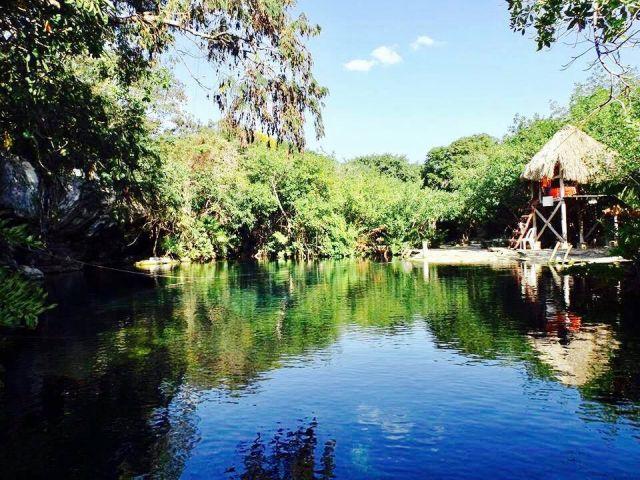 Cenote Cristalino Playa del Carmen Quintana Roo