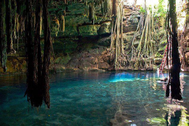Cenote Kankirixche Mucuyché Yucatán