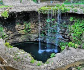 Cenote Saamal Hacienda Selva Maya Valladolid Yucatán
