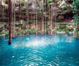 Cenote San Lorenzo Oxman Valladolid Yucatán