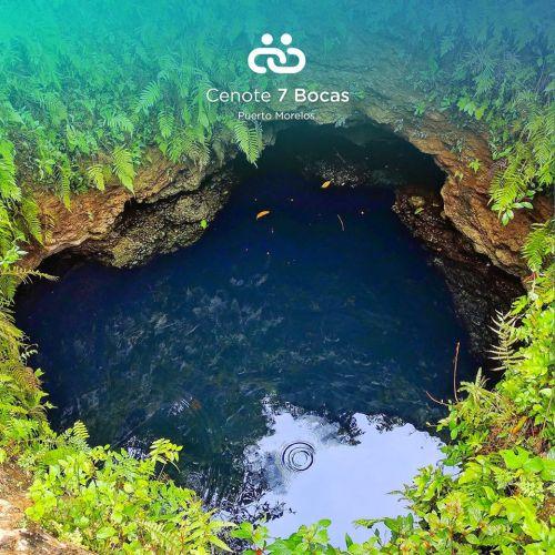 Cenote Siete Bocas Puerto Morelos Quintana Roo