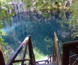 Cenote Yokdzonot Yaxcabá Yucatán
