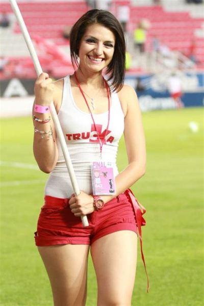 Bellas Chicas Porristas Centellas del Necaxa Fútbol