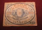 Cerveza de Barril Flor de Moctezuma Etiqueta 1919