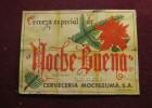 Cerveza Especial de Nochebuena Etiqueta 1941