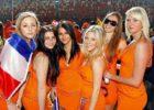 Edecanes Fútbol Holandesas