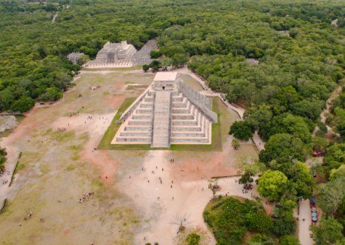 Chichen Itzá la foto con dron que le dio la vuelta al mundo